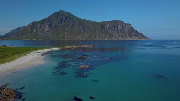 Thumbnail for Flight Over a Sea Beach