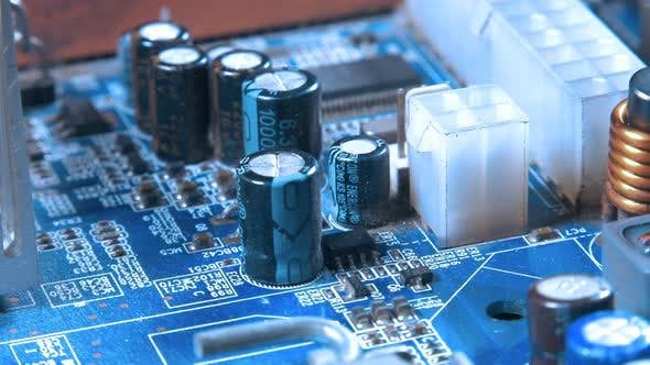 Thumbnail for Motherboard Hardware Electronic Technology Macro View 31
