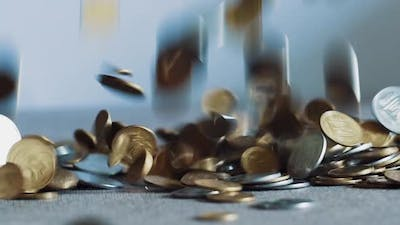 Dropping Coins