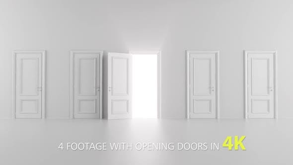 Thumbnail for 3 Footage With Opening Doors Pack 3