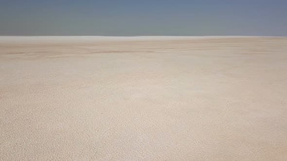 Thumbnail for Wide, White Urmia Salt Lake in Middle East, Iran