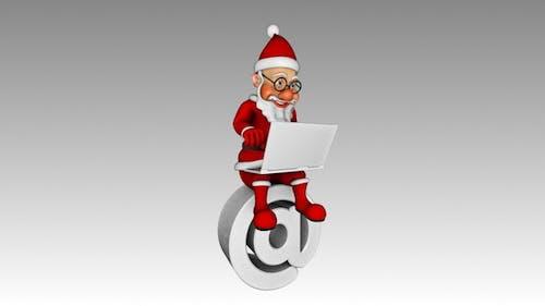 Santa 3D Character - Sent Email