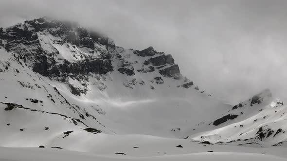 Thumbnail for High Altitude Rocky Snowy Mountain Wall