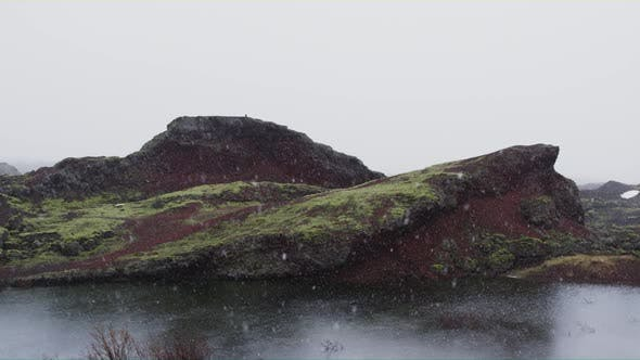Thumbnail for Snow Fall in Iceland
