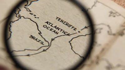 Exploring an Old Map