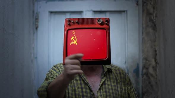 USSR TV Man.