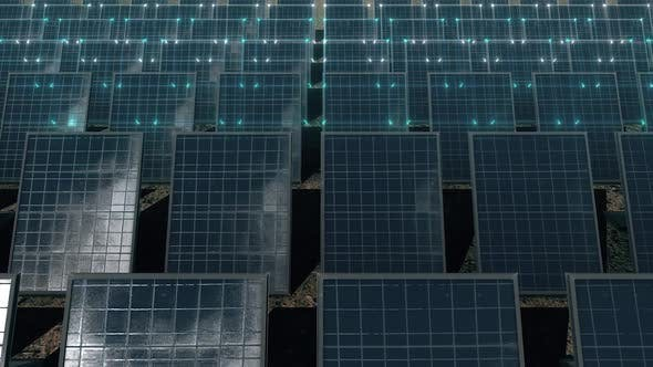 Thumbnail for Solar Panels Getting Electric Power Hd