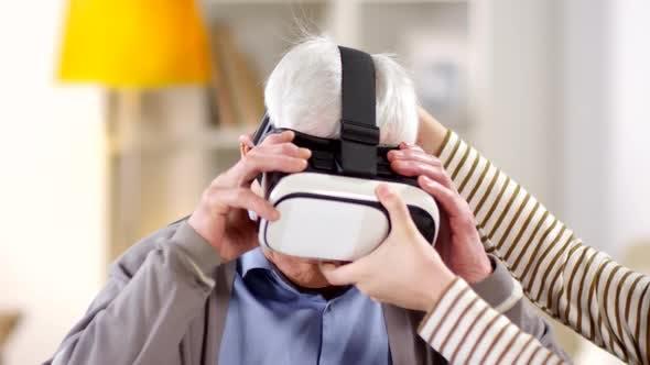 Thumbnail for Old Man Using VR Glasses