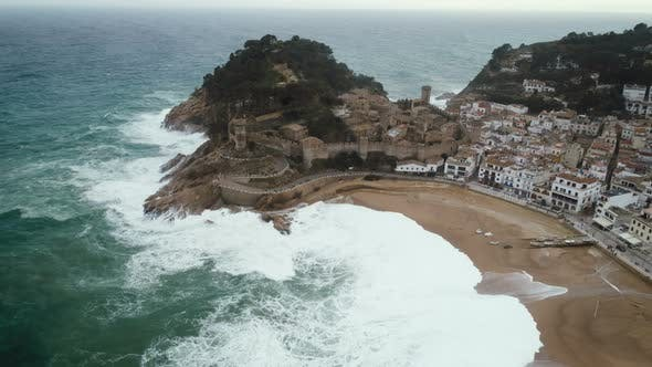 Cover Image for Tossa De Mar Castle In Spain