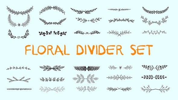 Floral Divider Set