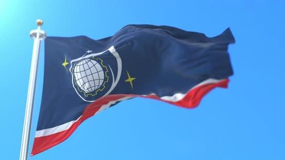 Korolyov City Flag, Russia