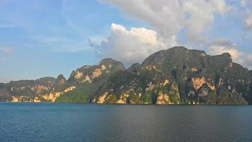 Mountain Ranges in Cheow Lan