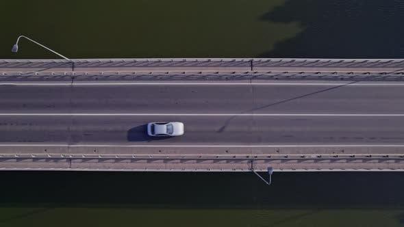 Traffic Jam on a Car Bridge