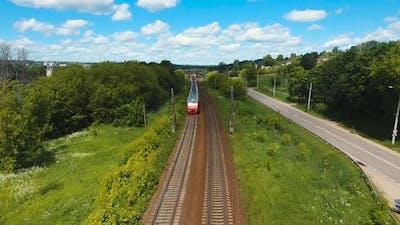 Train on the Railway.