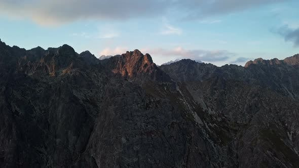 Thumbnail for Sunset in High Tatras Mountains