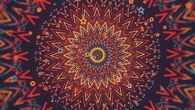 Colorful Kaleidoscope Ornament
