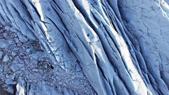 Thumbnail for Flying over Svinafellsjokull Glacier in Iceland