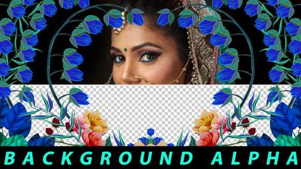 Thumbnail for Flower Frame Alpha03