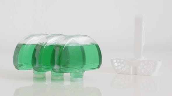 Thumbnail for Gel fresheners set close-up 4K tilting footage