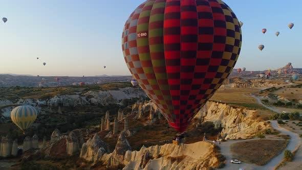 Thumbnail for Hot Air Balloons Flying