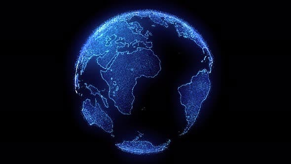 Thumbnail for Digitale Welt Globus