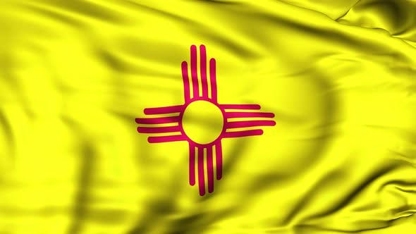 Thumbnail for New Mexico State Flag