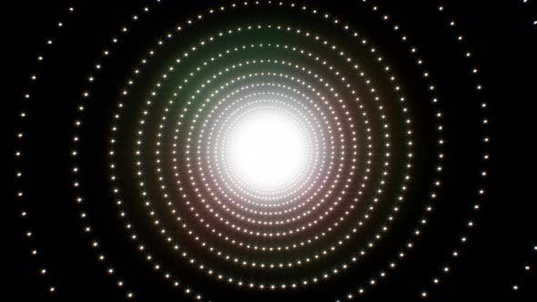 Glitter Rotation 4K Loop