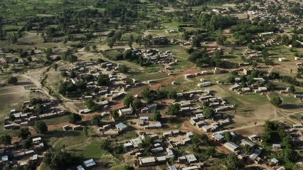 Thumbnail for Africa Mali Village Aerial View 40