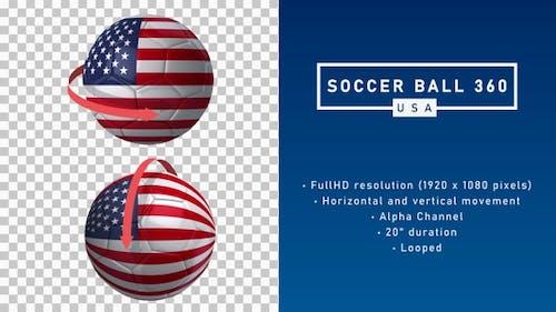Soccer Ball 360º - USA