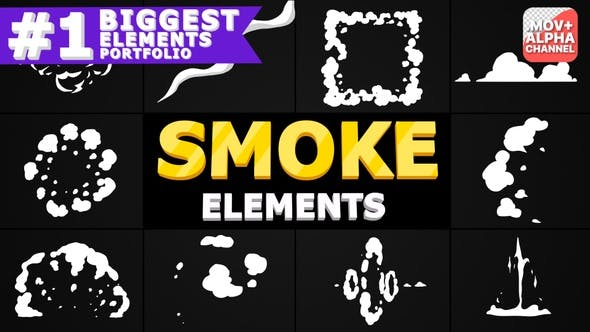 Thumbnail for Smoke Pack | Motion Graphics