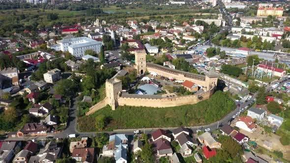 The Lubart Castle in Lutsk