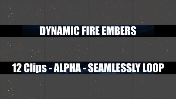 Thumbnail for Dynamic Fire Embers