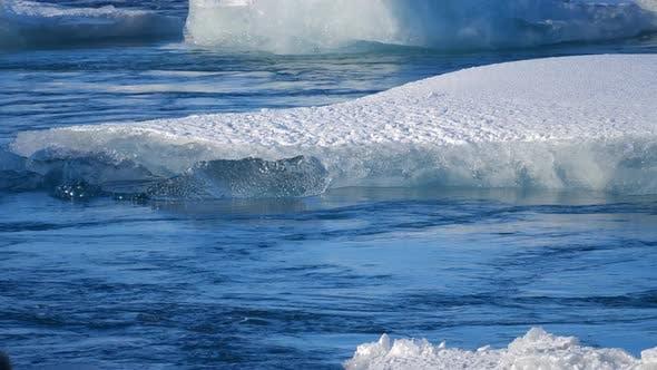Thumbnail for Eisberge am Ice Lake. Eis und Schnee Winter Natur Landschaft
