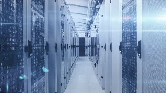 Data processing through data processing centre