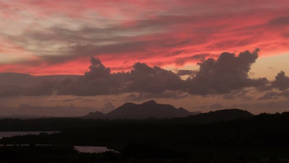Timelapse of dusk