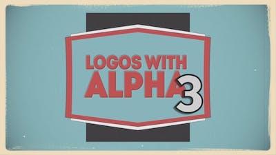 Logos With Alpha 3
