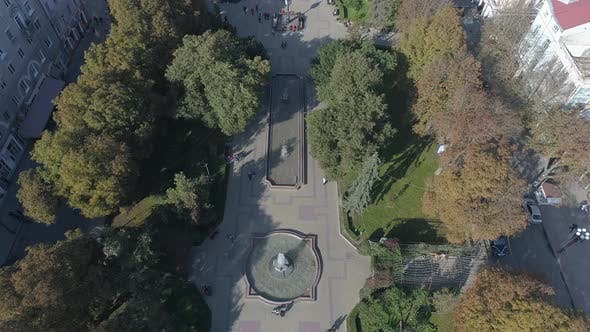 Thumbnail for Aerial shot of Theatre Square