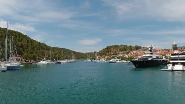 Thumbnail for Panoramic Video of Ferry in Skradin Croatia