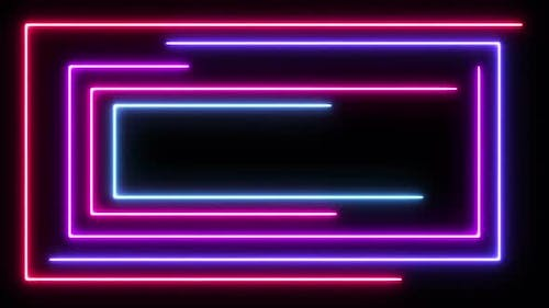 Colored Neon Lines