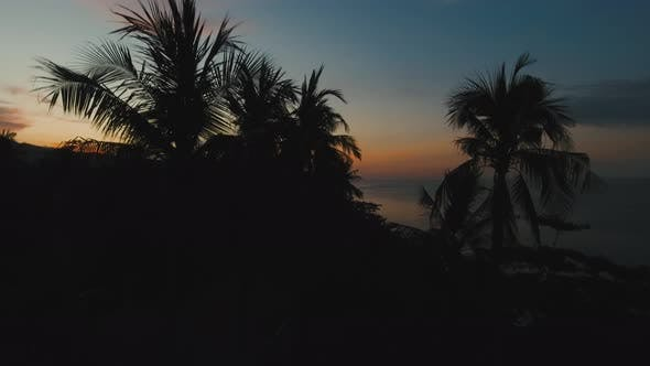 Thumbnail for Sunset on the Sea Coast. Bali, Indonesia