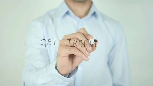 Thumbnail for Get Traffic, Writing On Screen