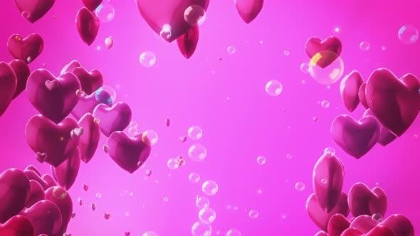 Thumbnail for Valentine Bubble 03 4K