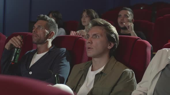Thumbnail for Few People Watching Horror in the Cinema