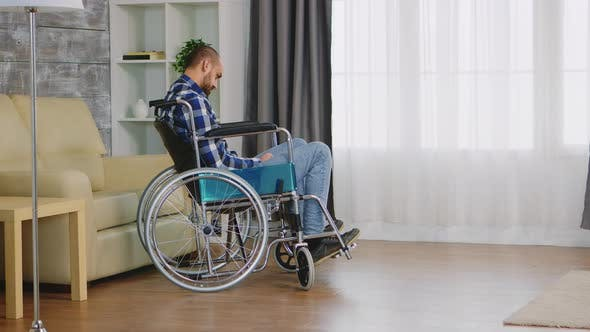 Thumbnail for Lonely and Depressed Handicapped Person
