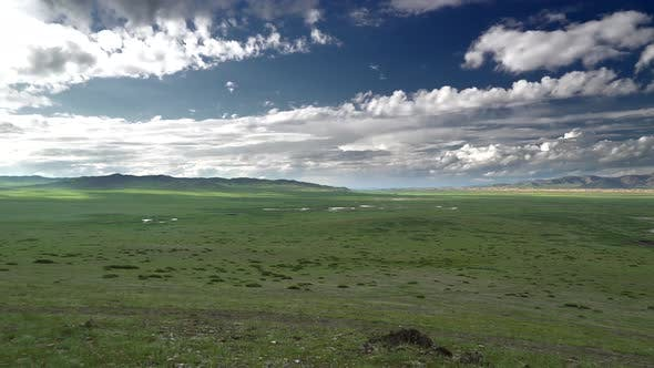 Thumbnail for Vast Empty Green Meadows of Central Asia