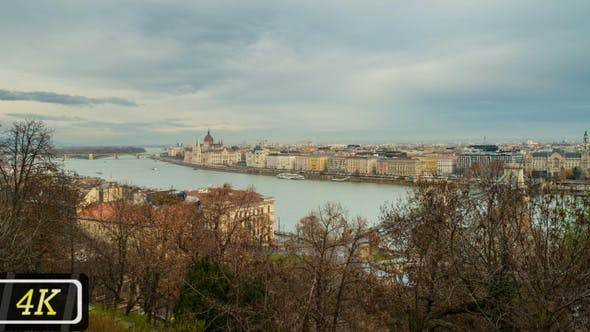 View from Buda Castle in Budapest