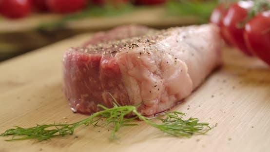 Thumbnail for Raw Beef Sirloin Steak