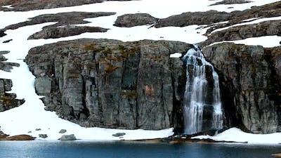 Road Aurlandsfjellet Norway