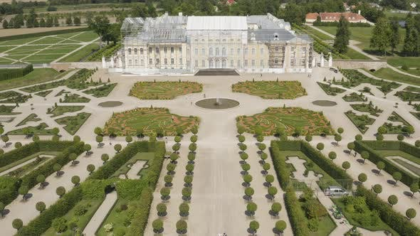 Beautiful Prussian Prince Palace With Huge Garden in Rundale, Latvia