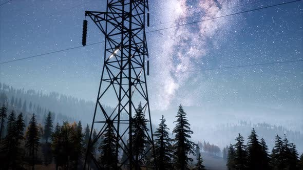 Thumbnail for High-Voltage Power Lines